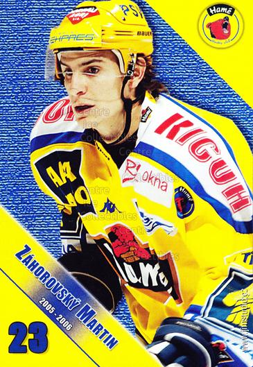 2005-06 Czech HC Hame Postcards #16 Martin Zahorovsky<br/>1 In Stock - $3.00 each - <a href=https://centericecollectibles.foxycart.com/cart?name=2005-06%20Czech%20HC%20Hame%20Postcards%20%2316%20Martin%20Zahorovs...&quantity_max=1&price=$3.00&code=125778 class=foxycart> Buy it now! </a>