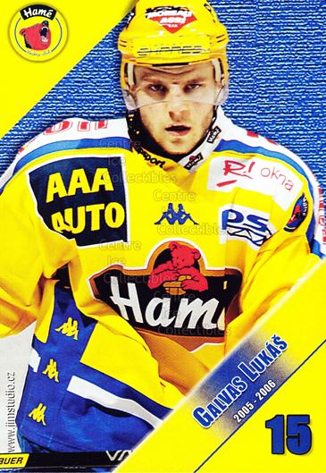 2005-06 Czech HC Hame Postcards #5 Lukas Galvas<br/>1 In Stock - $3.00 each - <a href=https://centericecollectibles.foxycart.com/cart?name=2005-06%20Czech%20HC%20Hame%20Postcards%20%235%20Lukas%20Galvas...&quantity_max=1&price=$3.00&code=125781 class=foxycart> Buy it now! </a>