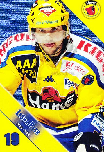 2005-06 Czech HC Hame Postcards #8 Petr Leska<br/>1 In Stock - $3.00 each - <a href=https://centericecollectibles.foxycart.com/cart?name=2005-06%20Czech%20HC%20Hame%20Postcards%20%238%20Petr%20Leska...&quantity_max=1&price=$3.00&code=125784 class=foxycart> Buy it now! </a>