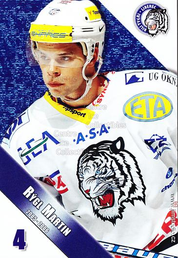 2005-06 Czech Bili Tygri Liberec Postcards #13 Martin Rygl<br/>2 In Stock - $3.00 each - <a href=https://centericecollectibles.foxycart.com/cart?name=2005-06%20Czech%20Bili%20Tygri%20Liberec%20Postcards%20%2313%20Martin%20Rygl...&price=$3.00&code=125804 class=foxycart> Buy it now! </a>