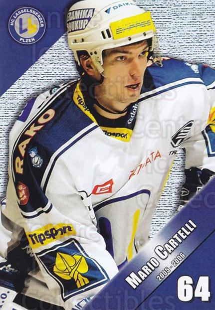 2005-06 Czech HC Plzen Postcards #2 Mario Cartelli<br/>1 In Stock - $3.00 each - <a href=https://centericecollectibles.foxycart.com/cart?name=2005-06%20Czech%20HC%20Plzen%20Postcards%20%232%20Mario%20Cartelli...&quantity_max=1&price=$3.00&code=125833 class=foxycart> Buy it now! </a>
