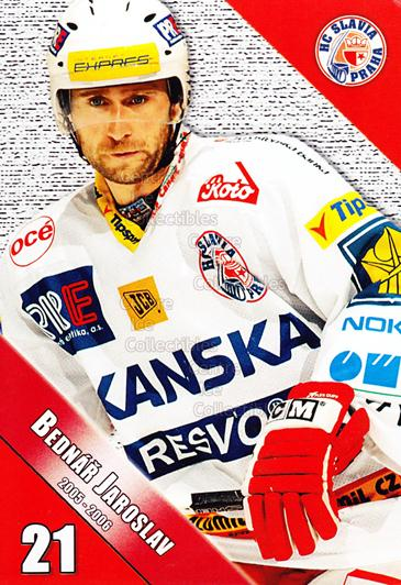 2005-06 Czech HC Slavia Praha Postcards #1 Jaroslav Bednar<br/>2 In Stock - $3.00 each - <a href=https://centericecollectibles.foxycart.com/cart?name=2005-06%20Czech%20HC%20Slavia%20Praha%20Postcards%20%231%20Jaroslav%20Bednar...&price=$3.00&code=125839 class=foxycart> Buy it now! </a>