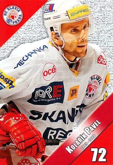 2005-06 Czech HC Slavia Praha Postcards #10 Pavel Kolarik<br/>3 In Stock - $3.00 each - <a href=https://centericecollectibles.foxycart.com/cart?name=2005-06%20Czech%20HC%20Slavia%20Praha%20Postcards%20%2310%20Pavel%20Kolarik...&price=$3.00&code=125840 class=foxycart> Buy it now! </a>