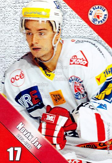 2005-06 Czech HC Slavia Praha Postcards #11 Jan Novak<br/>3 In Stock - $3.00 each - <a href=https://centericecollectibles.foxycart.com/cart?name=2005-06%20Czech%20HC%20Slavia%20Praha%20Postcards%20%2311%20Jan%20Novak...&price=$3.00&code=125841 class=foxycart> Buy it now! </a>
