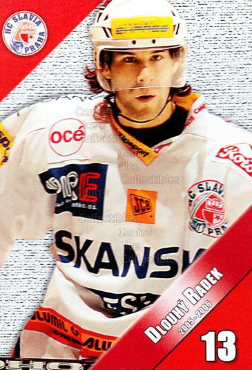 2005-06 Czech HC Slavia Praha Postcards #4 Radek Dlouhy<br/>2 In Stock - $3.00 each - <a href=https://centericecollectibles.foxycart.com/cart?name=2005-06%20Czech%20HC%20Slavia%20Praha%20Postcards%20%234%20Radek%20Dlouhy...&price=$3.00&code=125848 class=foxycart> Buy it now! </a>