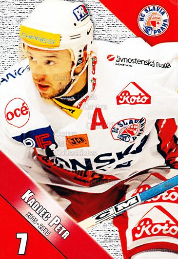 2005-06 Czech HC Slavia Praha Postcards #9 Petr Kadlec<br/>3 In Stock - $3.00 each - <a href=https://centericecollectibles.foxycart.com/cart?name=2005-06%20Czech%20HC%20Slavia%20Praha%20Postcards%20%239%20Petr%20Kadlec...&price=$3.00&code=125852 class=foxycart> Buy it now! </a>