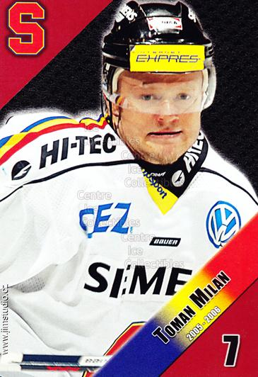 2005-06 Czech HC Sparta Praha Postcards #13 Milan Toman<br/>2 In Stock - $3.00 each - <a href=https://centericecollectibles.foxycart.com/cart?name=2005-06%20Czech%20HC%20Sparta%20Praha%20Postcards%20%2313%20Milan%20Toman...&quantity_max=2&price=$3.00&code=125857 class=foxycart> Buy it now! </a>