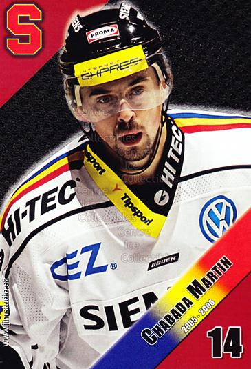 2005-06 Czech HC Sparta Praha Postcards #3 Martin Chabada<br/>2 In Stock - $3.00 each - <a href=https://centericecollectibles.foxycart.com/cart?name=2005-06%20Czech%20HC%20Sparta%20Praha%20Postcards%20%233%20Martin%20Chabada...&quantity_max=2&price=$3.00&code=125863 class=foxycart> Buy it now! </a>
