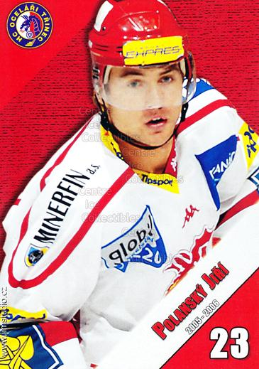 2005-06 Czech HC Ocelari Trinec Postcards #11 Jiri Polansky<br/>2 In Stock - $3.00 each - <a href=https://centericecollectibles.foxycart.com/cart?name=2005-06%20Czech%20HC%20Ocelari%20Trinec%20Postcards%20%2311%20Jiri%20Polansky...&quantity_max=2&price=$3.00&code=125867 class=foxycart> Buy it now! </a>