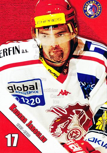 2005-06 Czech HC Ocelari Trinec Postcards #6 Jaroslav Kudrna<br/>2 In Stock - $3.00 each - <a href=https://centericecollectibles.foxycart.com/cart?name=2005-06%20Czech%20HC%20Ocelari%20Trinec%20Postcards%20%236%20Jaroslav%20Kudrna...&quantity_max=2&price=$3.00&code=125875 class=foxycart> Buy it now! </a>