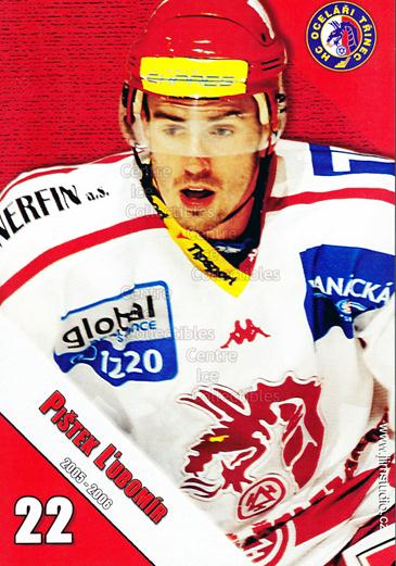 2005-06 Czech HC Ocelari Trinec Postcards #9 Lubomir Pistek<br/>2 In Stock - $3.00 each - <a href=https://centericecollectibles.foxycart.com/cart?name=2005-06%20Czech%20HC%20Ocelari%20Trinec%20Postcards%20%239%20Lubomir%20Pistek...&quantity_max=2&price=$3.00&code=125877 class=foxycart> Buy it now! </a>