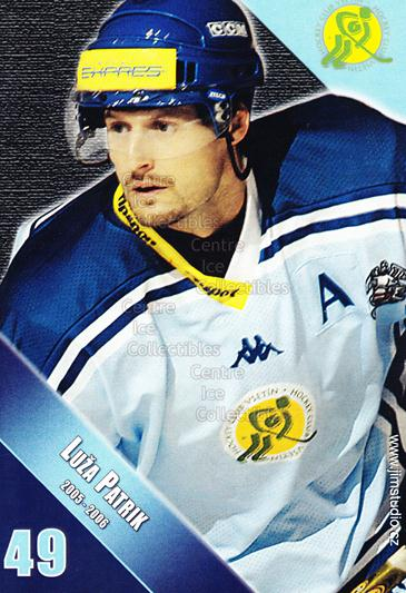 2005-06 Czech HC Vsetin Postcards #10 Patrik Luza<br/>1 In Stock - $3.00 each - <a href=https://centericecollectibles.foxycart.com/cart?name=2005-06%20Czech%20HC%20Vsetin%20Postcards%20%2310%20Patrik%20Luza...&price=$3.00&code=125898 class=foxycart> Buy it now! </a>