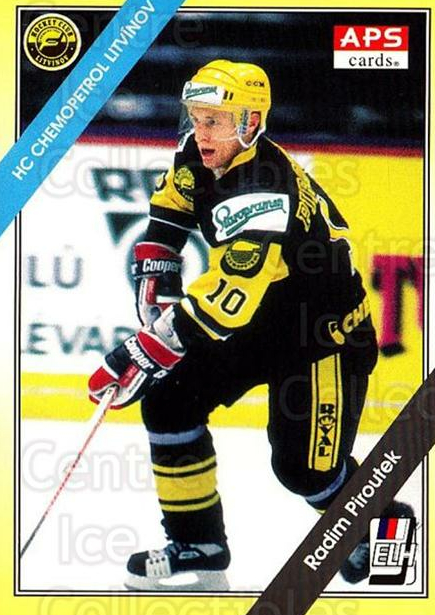 1994-95 Czech APS Extraliga #219 Radim Piroutek<br/>4 In Stock - $2.00 each - <a href=https://centericecollectibles.foxycart.com/cart?name=1994-95%20Czech%20APS%20Extraliga%20%23219%20Radim%20Piroutek...&quantity_max=4&price=$2.00&code=1258 class=foxycart> Buy it now! </a>