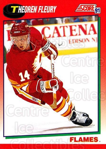 1991-92 Score Canadian English #226 Theo Fleury<br/>3 In Stock - $1.00 each - <a href=https://centericecollectibles.foxycart.com/cart?name=1991-92%20Score%20Canadian%20English%20%23226%20Theo%20Fleury...&quantity_max=3&price=$1.00&code=12593 class=foxycart> Buy it now! </a>