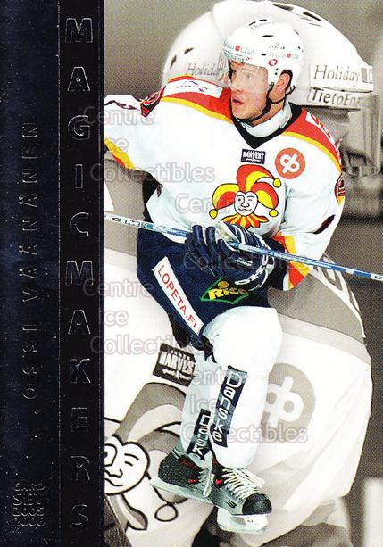 2005-06 Finnish Cardset Magic Makers #10 Ossi Vaananen<br/>7 In Stock - $3.00 each - <a href=https://centericecollectibles.foxycart.com/cart?name=2005-06%20Finnish%20Cardset%20Magic%20Makers%20%2310%20Ossi%20Vaananen...&price=$3.00&code=126031 class=foxycart> Buy it now! </a>