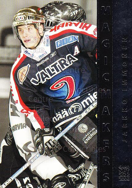 2005-06 Finnish Cardset Magic Makers #12 Jarkko Immonen<br/>7 In Stock - $3.00 each - <a href=https://centericecollectibles.foxycart.com/cart?name=2005-06%20Finnish%20Cardset%20Magic%20Makers%20%2312%20Jarkko%20Immonen...&quantity_max=7&price=$3.00&code=126032 class=foxycart> Buy it now! </a>
