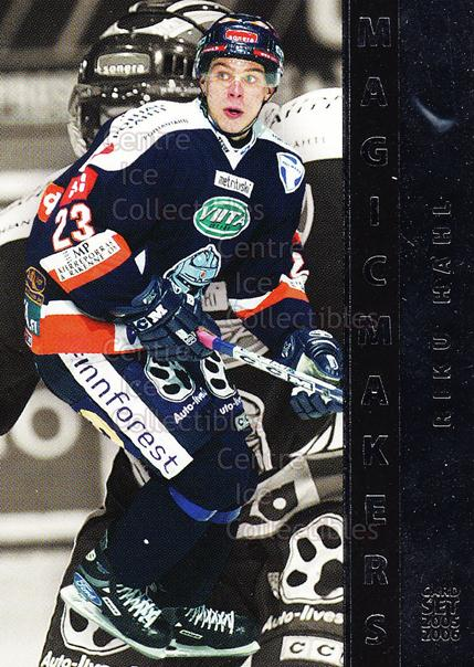 2005-06 Finnish Cardset Magic Makers #5 Riku Hahl<br/>10 In Stock - $3.00 each - <a href=https://centericecollectibles.foxycart.com/cart?name=2005-06%20Finnish%20Cardset%20Magic%20Makers%20%235%20Riku%20Hahl...&quantity_max=10&price=$3.00&code=126041 class=foxycart> Buy it now! </a>