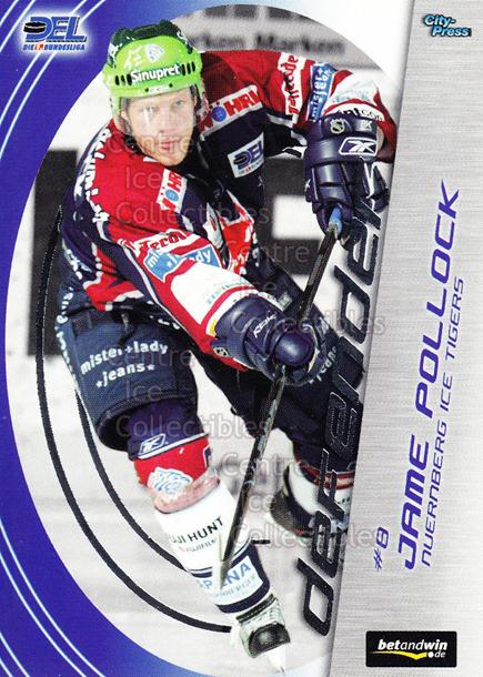 2005-06 German DEL Defender #13 Jame Pollock<br/>1 In Stock - $3.00 each - <a href=https://centericecollectibles.foxycart.com/cart?name=2005-06%20German%20DEL%20Defender%20%2313%20Jame%20Pollock...&quantity_max=1&price=$3.00&code=126238 class=foxycart> Buy it now! </a>