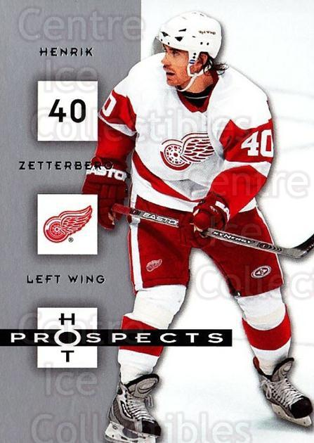 2005-06 Hot Prospects #36 Henrik Zetterberg<br/>3 In Stock - $2.00 each - <a href=https://centericecollectibles.foxycart.com/cart?name=2005-06%20Hot%20Prospects%20%2336%20Henrik%20Zetterbe...&quantity_max=3&price=$2.00&code=126488 class=foxycart> Buy it now! </a>