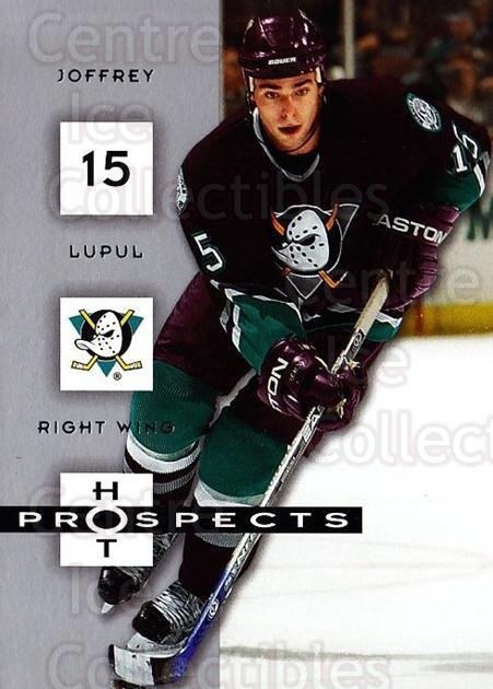 2005-06 Hot Prospects #1 Joffrey Lupul<br/>6 In Stock - $1.00 each - <a href=https://centericecollectibles.foxycart.com/cart?name=2005-06%20Hot%20Prospects%20%231%20Joffrey%20Lupul...&quantity_max=6&price=$1.00&code=126495 class=foxycart> Buy it now! </a>