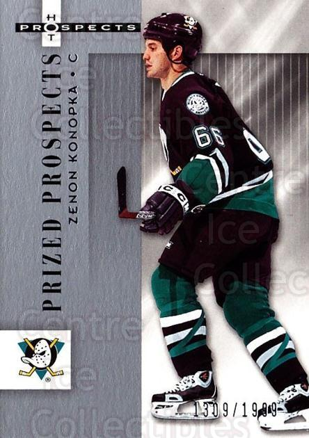 2005-06 Hot Prospects #102 Zenon Konopka<br/>6 In Stock - $3.00 each - <a href=https://centericecollectibles.foxycart.com/cart?name=2005-06%20Hot%20Prospects%20%23102%20Zenon%20Konopka...&quantity_max=6&price=$3.00&code=126499 class=foxycart> Buy it now! </a>