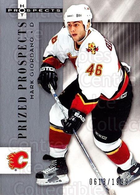 2005-06 Hot Prospects #111 Mark Giordano<br/>1 In Stock - $20.00 each - <a href=https://centericecollectibles.foxycart.com/cart?name=2005-06%20Hot%20Prospects%20%23111%20Mark%20Giordano...&quantity_max=1&price=$20.00&code=126509 class=foxycart> Buy it now! </a>