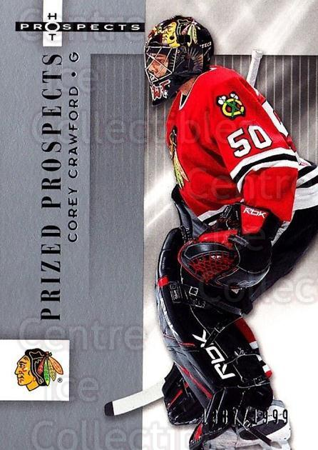 2005-06 Hot Prospects #116 Corey Crawford<br/>1 In Stock - $20.00 each - <a href=https://centericecollectibles.foxycart.com/cart?name=2005-06%20Hot%20Prospects%20%23116%20Corey%20Crawford...&quantity_max=1&price=$20.00&code=126514 class=foxycart> Buy it now! </a>