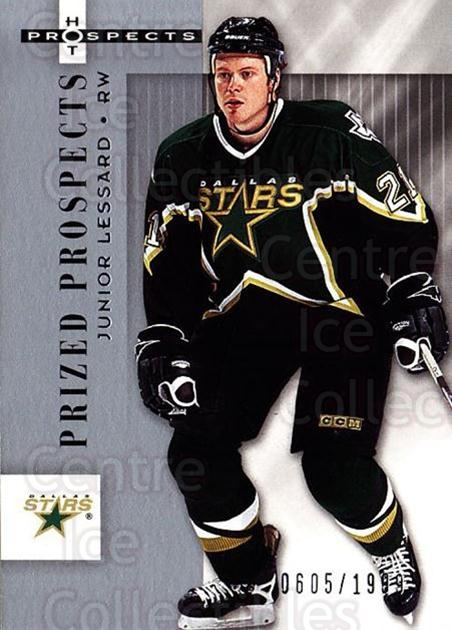 2005-06 Hot Prospects #125 Junior Lessard<br/>7 In Stock - $3.00 each - <a href=https://centericecollectibles.foxycart.com/cart?name=2005-06%20Hot%20Prospects%20%23125%20Junior%20Lessard...&quantity_max=7&price=$3.00&code=126524 class=foxycart> Buy it now! </a>