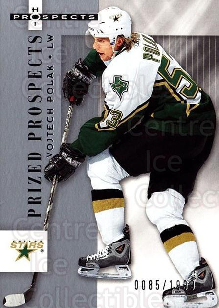 2005-06 Hot Prospects #126 Vojtech Polak<br/>6 In Stock - $3.00 each - <a href=https://centericecollectibles.foxycart.com/cart?name=2005-06%20Hot%20Prospects%20%23126%20Vojtech%20Polak...&quantity_max=6&price=$3.00&code=126525 class=foxycart> Buy it now! </a>