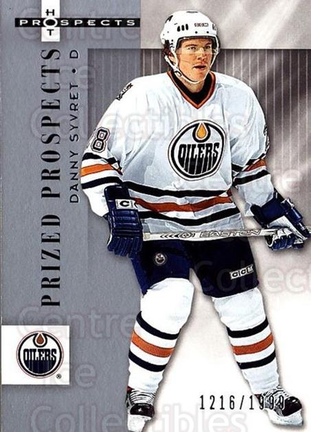 2005-06 Hot Prospects #129 Danny Syvret<br/>2 In Stock - $3.00 each - <a href=https://centericecollectibles.foxycart.com/cart?name=2005-06%20Hot%20Prospects%20%23129%20Danny%20Syvret...&quantity_max=2&price=$3.00&code=126528 class=foxycart> Buy it now! </a>