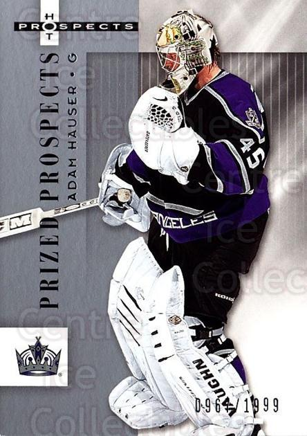 2005-06 Hot Prospects #130 Adam Hauser<br/>1 In Stock - $3.00 each - <a href=https://centericecollectibles.foxycart.com/cart?name=2005-06%20Hot%20Prospects%20%23130%20Adam%20Hauser...&quantity_max=1&price=$3.00&code=126530 class=foxycart> Buy it now! </a>