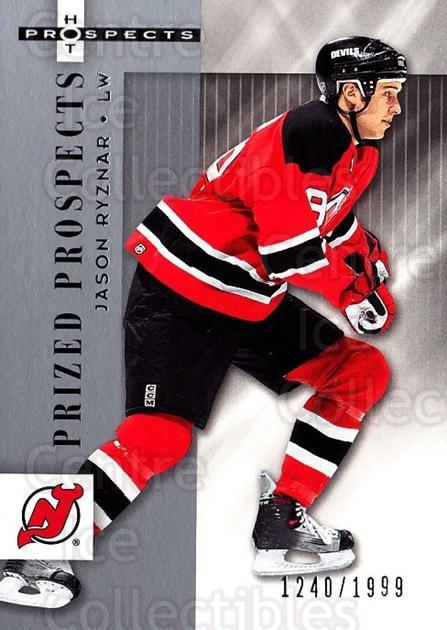 2005-06 Hot Prospects #148 Jason Ryznar<br/>7 In Stock - $3.00 each - <a href=https://centericecollectibles.foxycart.com/cart?name=2005-06%20Hot%20Prospects%20%23148%20Jason%20Ryznar...&quantity_max=7&price=$3.00&code=126549 class=foxycart> Buy it now! </a>