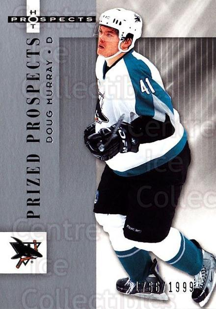 2005-06 Hot Prospects #162 Doug Murray<br/>5 In Stock - $3.00 each - <a href=https://centericecollectibles.foxycart.com/cart?name=2005-06%20Hot%20Prospects%20%23162%20Doug%20Murray...&quantity_max=5&price=$3.00&code=126565 class=foxycart> Buy it now! </a>