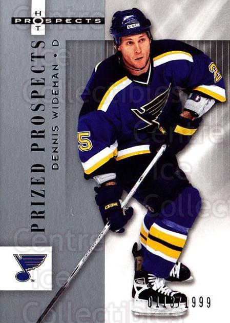 2005-06 Hot Prospects #164 Dennis Wideman<br/>6 In Stock - $3.00 each - <a href=https://centericecollectibles.foxycart.com/cart?name=2005-06%20Hot%20Prospects%20%23164%20Dennis%20Wideman...&quantity_max=6&price=$3.00&code=126567 class=foxycart> Buy it now! </a>