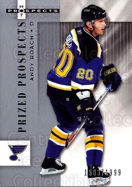 2005-06 Hot Prospects #165 Andy Roach<br/>5 In Stock - $3.00 each - <a href=https://centericecollectibles.foxycart.com/cart?name=2005-06%20Hot%20Prospects%20%23165%20Andy%20Roach...&quantity_max=5&price=$3.00&code=126568 class=foxycart> Buy it now! </a>