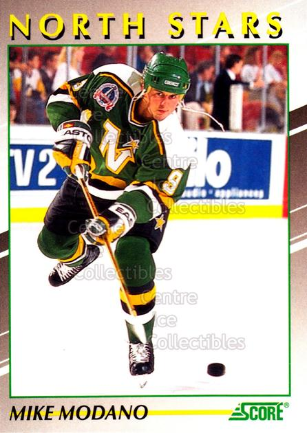 1991-92 Score Young Superstars #35 Mike Modano<br/>15 In Stock - $2.00 each - <a href=https://centericecollectibles.foxycart.com/cart?name=1991-92%20Score%20Young%20Superstars%20%2335%20Mike%20Modano...&quantity_max=15&price=$2.00&code=12656 class=foxycart> Buy it now! </a>