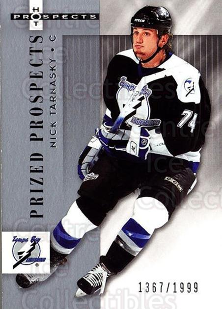 2005-06 Hot Prospects #171 Nick Tarnasky<br/>7 In Stock - $3.00 each - <a href=https://centericecollectibles.foxycart.com/cart?name=2005-06%20Hot%20Prospects%20%23171%20Nick%20Tarnasky...&quantity_max=7&price=$3.00&code=126575 class=foxycart> Buy it now! </a>