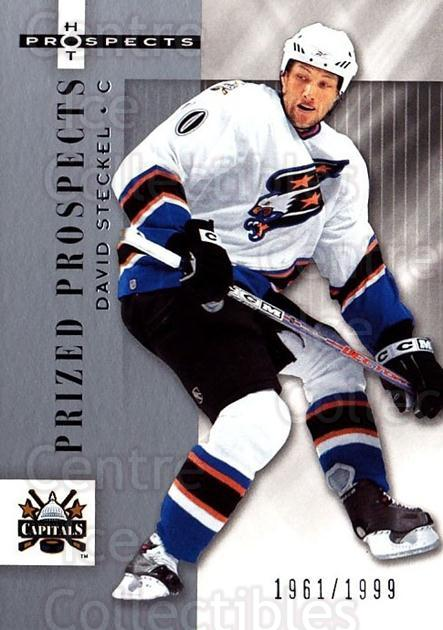 2005-06 Hot Prospects #184 David Steckel<br/>4 In Stock - $3.00 each - <a href=https://centericecollectibles.foxycart.com/cart?name=2005-06%20Hot%20Prospects%20%23184%20David%20Steckel...&quantity_max=4&price=$3.00&code=126589 class=foxycart> Buy it now! </a>