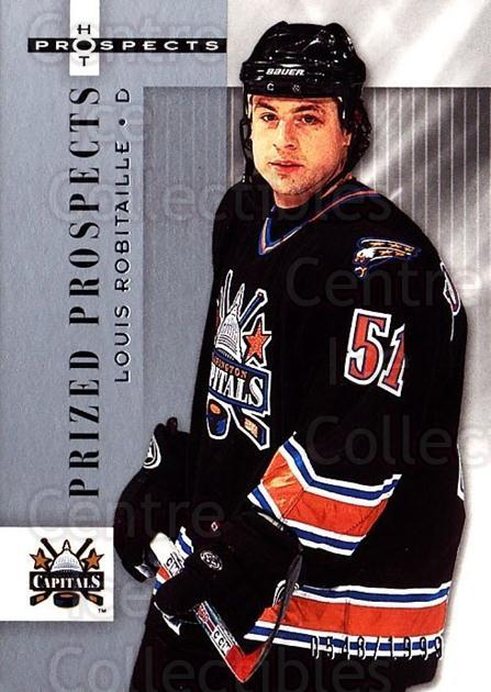 2005-06 Hot Prospects #186 Louis Robitaille<br/>1 In Stock - $3.00 each - <a href=https://centericecollectibles.foxycart.com/cart?name=2005-06%20Hot%20Prospects%20%23186%20Louis%20Robitaill...&quantity_max=1&price=$3.00&code=126591 class=foxycart> Buy it now! </a>