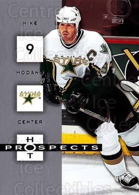2005-06 Hot Prospects #30 Mike Modano<br/>6 In Stock - $1.00 each - <a href=https://centericecollectibles.foxycart.com/cart?name=2005-06%20Hot%20Prospects%20%2330%20Mike%20Modano...&quantity_max=6&price=$1.00&code=126606 class=foxycart> Buy it now! </a>