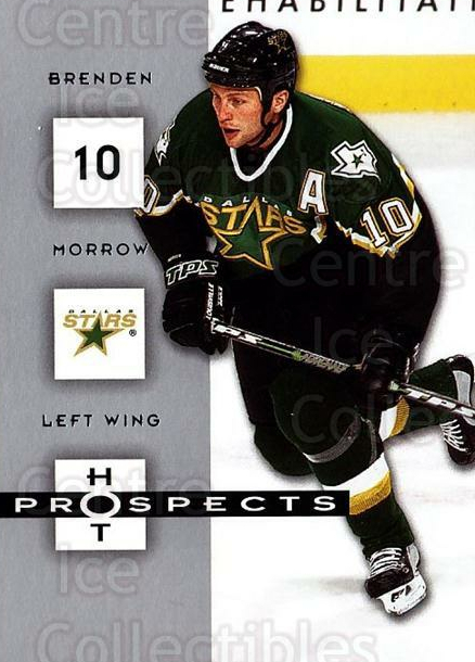 2005-06 Hot Prospects #32 Brenden Morrow<br/>5 In Stock - $1.00 each - <a href=https://centericecollectibles.foxycart.com/cart?name=2005-06%20Hot%20Prospects%20%2332%20Brenden%20Morrow...&quantity_max=5&price=$1.00&code=126608 class=foxycart> Buy it now! </a>