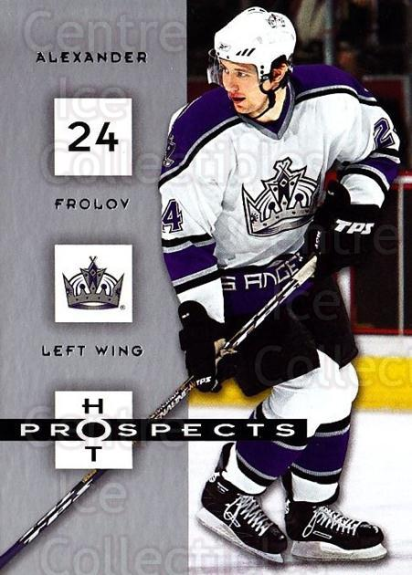 2005-06 Hot Prospects #45 Alexander Frolov<br/>6 In Stock - $1.00 each - <a href=https://centericecollectibles.foxycart.com/cart?name=2005-06%20Hot%20Prospects%20%2345%20Alexander%20Frolo...&quantity_max=6&price=$1.00&code=126617 class=foxycart> Buy it now! </a>