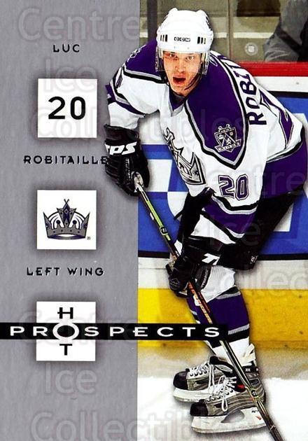 2005-06 Hot Prospects #46 Luc Robitaille<br/>6 In Stock - $1.00 each - <a href=https://centericecollectibles.foxycart.com/cart?name=2005-06%20Hot%20Prospects%20%2346%20Luc%20Robitaille...&quantity_max=6&price=$1.00&code=126618 class=foxycart> Buy it now! </a>