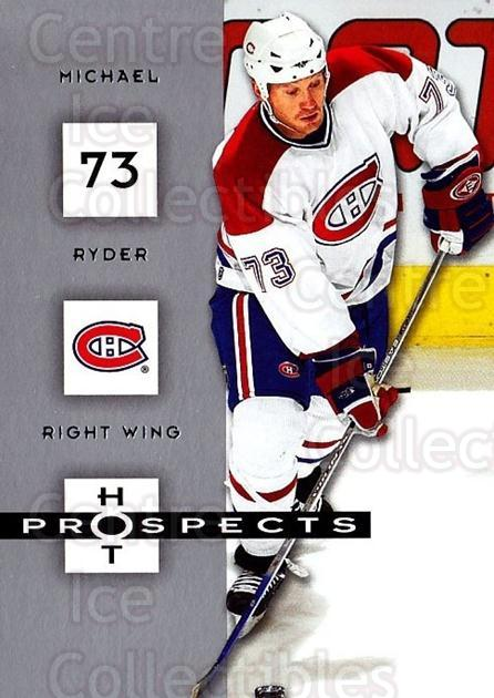 2005-06 Hot Prospects #53 Michael Ryder<br/>2 In Stock - $1.00 each - <a href=https://centericecollectibles.foxycart.com/cart?name=2005-06%20Hot%20Prospects%20%2353%20Michael%20Ryder...&quantity_max=2&price=$1.00&code=126626 class=foxycart> Buy it now! </a>
