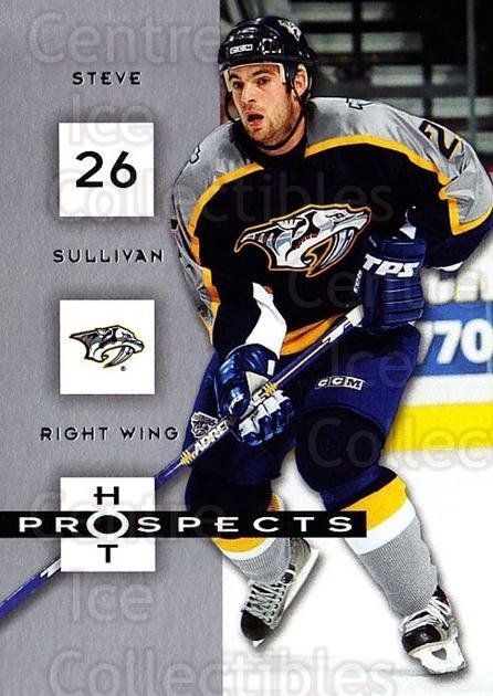 2005-06 Hot Prospects #57 Steve Sullivan<br/>6 In Stock - $1.00 each - <a href=https://centericecollectibles.foxycart.com/cart?name=2005-06%20Hot%20Prospects%20%2357%20Steve%20Sullivan...&quantity_max=6&price=$1.00&code=126630 class=foxycart> Buy it now! </a>
