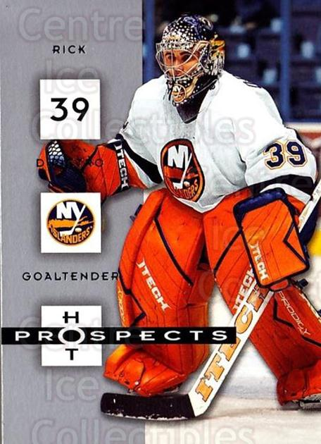 2005-06 Hot Prospects #63 Rick DiPietro<br/>6 In Stock - $1.00 each - <a href=https://centericecollectibles.foxycart.com/cart?name=2005-06%20Hot%20Prospects%20%2363%20Rick%20DiPietro...&quantity_max=6&price=$1.00&code=126637 class=foxycart> Buy it now! </a>