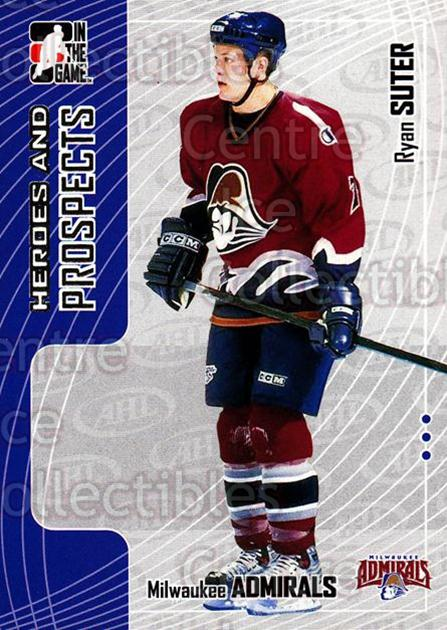 2005-06 ITG Heroes and Prospects #101 Ryan Suter<br/>20 In Stock - $1.00 each - <a href=https://centericecollectibles.foxycart.com/cart?name=2005-06%20ITG%20Heroes%20and%20Prospects%20%23101%20Ryan%20Suter...&price=$1.00&code=126672 class=foxycart> Buy it now! </a>