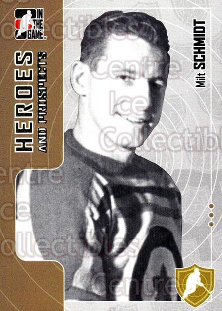 2005-06 ITG Heroes and Prospects #11 Milt Schmidt<br/>17 In Stock - $1.00 each - <a href=https://centericecollectibles.foxycart.com/cart?name=2005-06%20ITG%20Heroes%20and%20Prospects%20%2311%20Milt%20Schmidt...&price=$1.00&code=126678 class=foxycart> Buy it now! </a>
