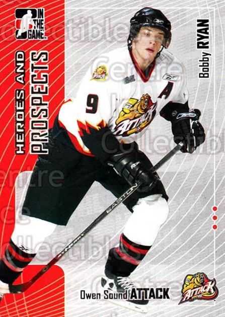2005-06 ITG Heroes and Prospects #112 Bobby Ryan<br/>17 In Stock - $1.00 each - <a href=https://centericecollectibles.foxycart.com/cart?name=2005-06%20ITG%20Heroes%20and%20Prospects%20%23112%20Bobby%20Ryan...&price=$1.00&code=126679 class=foxycart> Buy it now! </a>