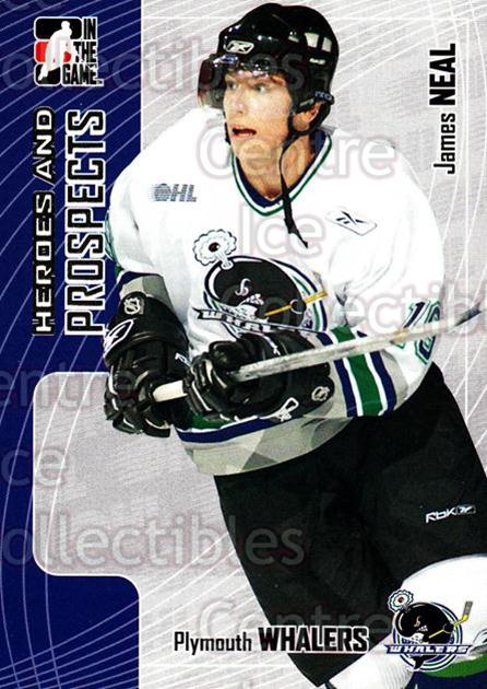 2005-06 ITG Heroes and Prospects #119 James Neal<br/>17 In Stock - $1.00 each - <a href=https://centericecollectibles.foxycart.com/cart?name=2005-06%20ITG%20Heroes%20and%20Prospects%20%23119%20James%20Neal...&price=$1.00&code=126684 class=foxycart> Buy it now! </a>